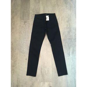 NEW The Kooples Black Jean Skinny Leg Short Fit